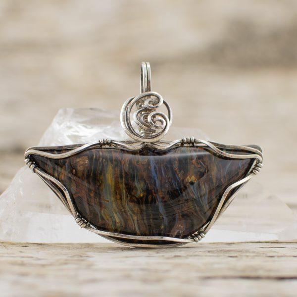 Pietersite Pendant Jewelry front image