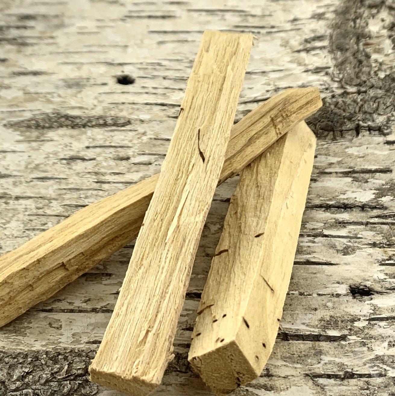 Palo Santo Holy Wood Close Up