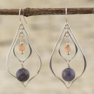 Multi Gemstone Earrings Enlightened Creator